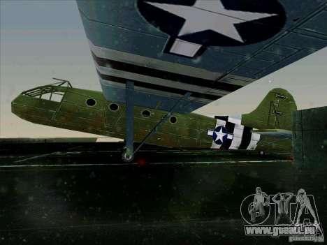 Avion du jeu derrière l'ennemi lignes 2 pour GTA San Andreas laissé vue