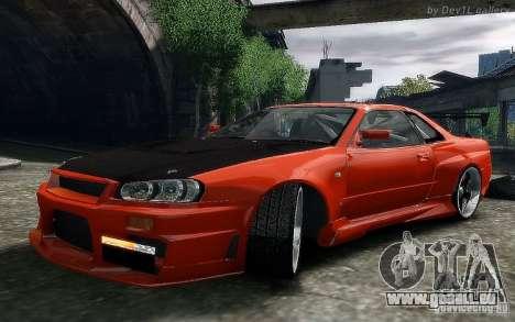 Nissan SkyLine BNR34 für GTA 4