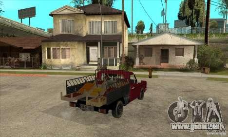 Anadol Pickup für GTA San Andreas rechten Ansicht