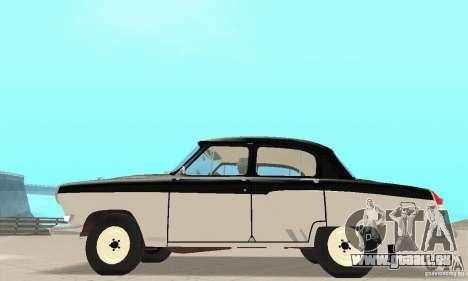 GAZ-21 Volga für GTA San Andreas zurück linke Ansicht