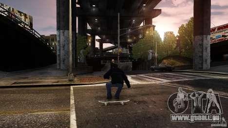 Skateboard # 3 pour GTA 4 est une gauche