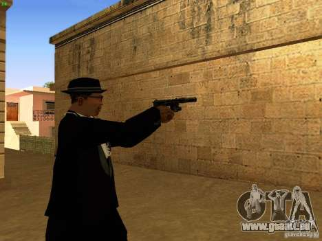 USP45 Tactical für GTA San Andreas fünften Screenshot
