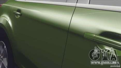 Ford Focus sedan für GTA San Andreas zurück linke Ansicht