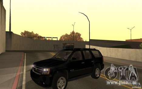 Chevrolet Tahoe für GTA San Andreas rechten Ansicht