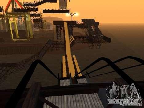 Huge MonsterTruck Track für GTA San Andreas neunten Screenshot