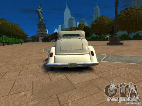 Ford Coupe 1934 für GTA 4 rechte Ansicht