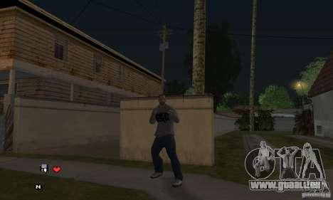 Beta v0.1 pull Linkin Park pour GTA San Andreas troisième écran
