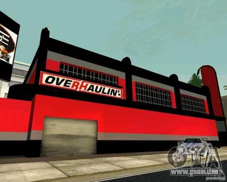 OVERHAULIN Workshop für GTA San Andreas fünften Screenshot