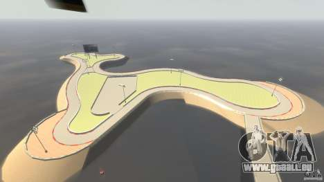 Drifttrack IV für GTA 4