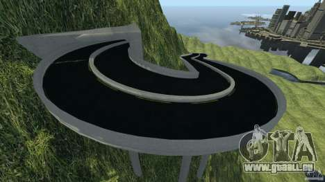 MG Downhill Map V1.0 [Beta] pour GTA 4 troisième écran