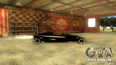 Lamborghini Concept pour GTA San Andreas laissé vue
