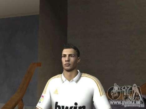 Cristiano Ronaldo pour GTA San Andreas quatrième écran