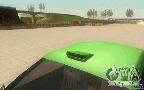 Mad Drivers New Tuning Parts pour GTA San Andreas quatrième écran