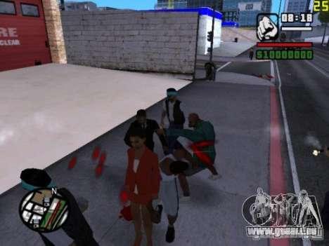 Vous ne pouvez pas battre les femmes 2.0 pour GTA San Andreas troisième écran