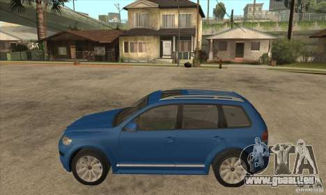Volkswagen Touareg R50 pour GTA San Andreas laissé vue