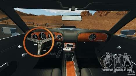Ford Mustang Boss 429 für GTA 4 Rückansicht