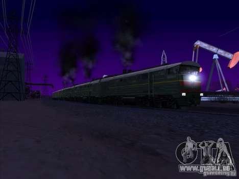 4TÈ10S-0013 pour GTA San Andreas vue intérieure