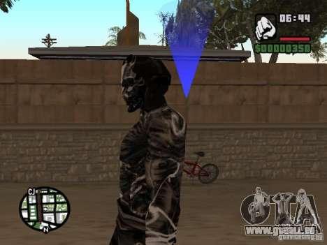 Sandwraith from Prince of Persia 2 pour GTA San Andreas troisième écran