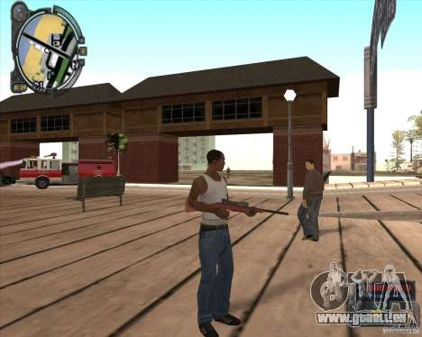S.T.A.L.K.E.R. Call of Pripyat HUD for SA v1.0 für GTA San Andreas zweiten Screenshot