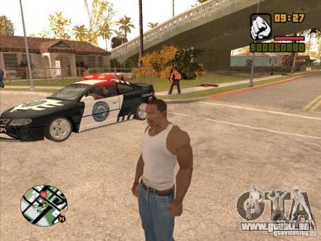 Call the Police für GTA San Andreas dritten Screenshot