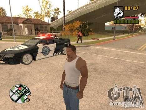 Call the Police für GTA San Andreas dritten Screenshot