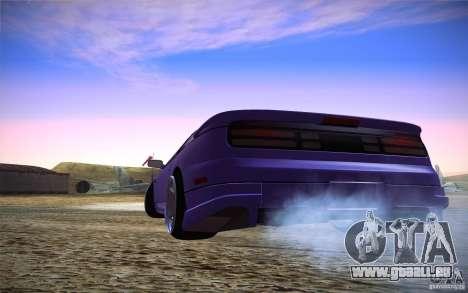 Nissan 300 ZX für GTA San Andreas zurück linke Ansicht