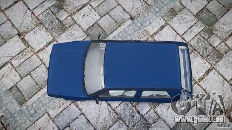Volkswagen GOLF MK2 GTI pour GTA 4 vue de dessus