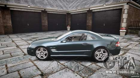 Mercedes Benz SL65 AMG V1.1 für GTA 4 linke Ansicht