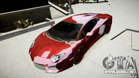 Lamborghini Aventador LP700-4 pour GTA 4