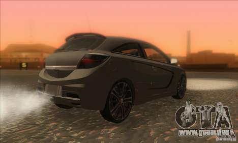 Opel Astra GTC DIM v1.0 pour GTA San Andreas vue de droite
