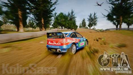 Ford Focus RS WRC pour GTA 4 Salon