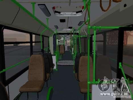 Autobus 6222 pour GTA San Andreas vue de côté