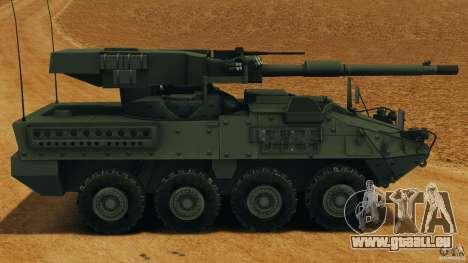 Stryker M1128 Mobile Gun System v1.0 für GTA 4 linke Ansicht