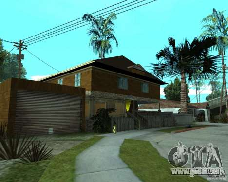 Nouvelle CJâ maison pour GTA San Andreas deuxième écran