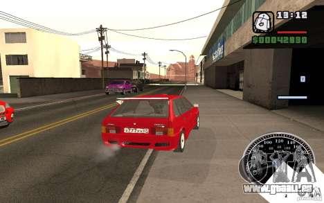 VAZ 21093i für GTA San Andreas Unteransicht