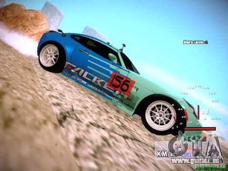 Pontiac Solstice Falken Tire pour GTA San Andreas vue de droite