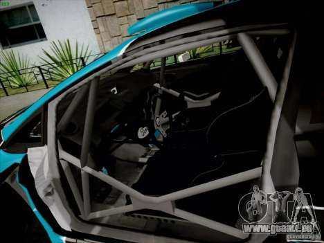 Ford Fiesta RS für GTA San Andreas Rückansicht