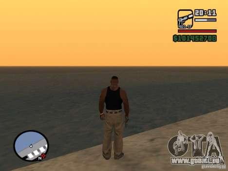 Saturn Mod pour GTA San Andreas troisième écran