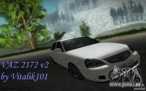 VAZ-2172 v2 pour GTA San Andreas