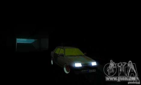 Look Rat 21099 VAZ pour GTA San Andreas sur la vue arrière gauche