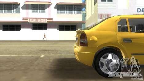 Opel Astra G pour GTA Vice City sur la vue arrière gauche