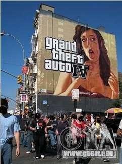 The real Poster Mod für GTA 4 fünften Screenshot
