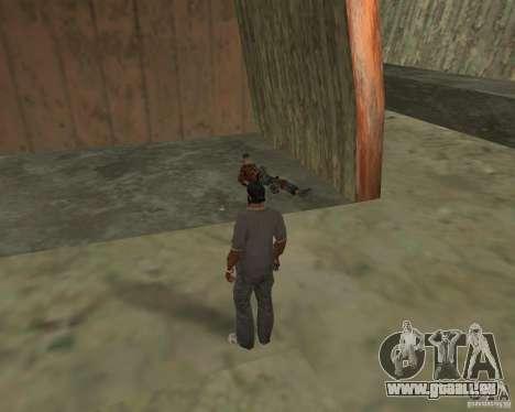 Barney Obdachlose für GTA San Andreas siebten Screenshot