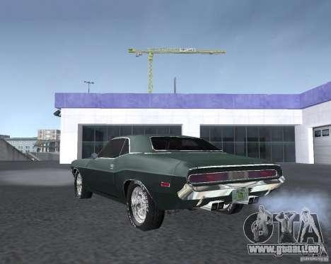 Dodge Challenger V1.0 pour GTA San Andreas vue de droite