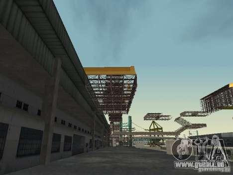 Huge MonsterTruck Track pour GTA San Andreas cinquième écran