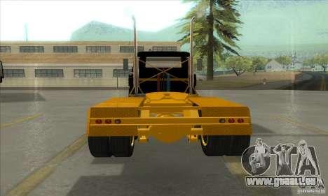 Mack R600 pour GTA San Andreas vue arrière