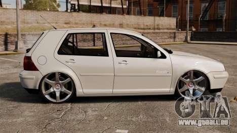 Volkswagen Golf Flash Edit für GTA 4 linke Ansicht
