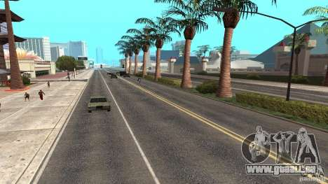 New HQ Roads für GTA San Andreas sechsten Screenshot