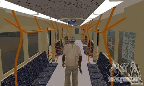 Metro 81-7021 für GTA San Andreas rechten Ansicht