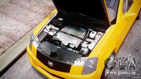 Cadillac CTS Taxi pour GTA 4 est un droit